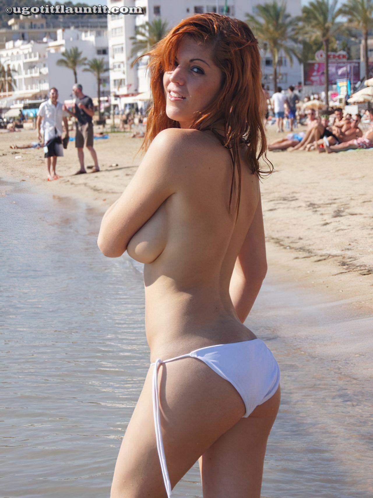 Ruiva na Praia (6)