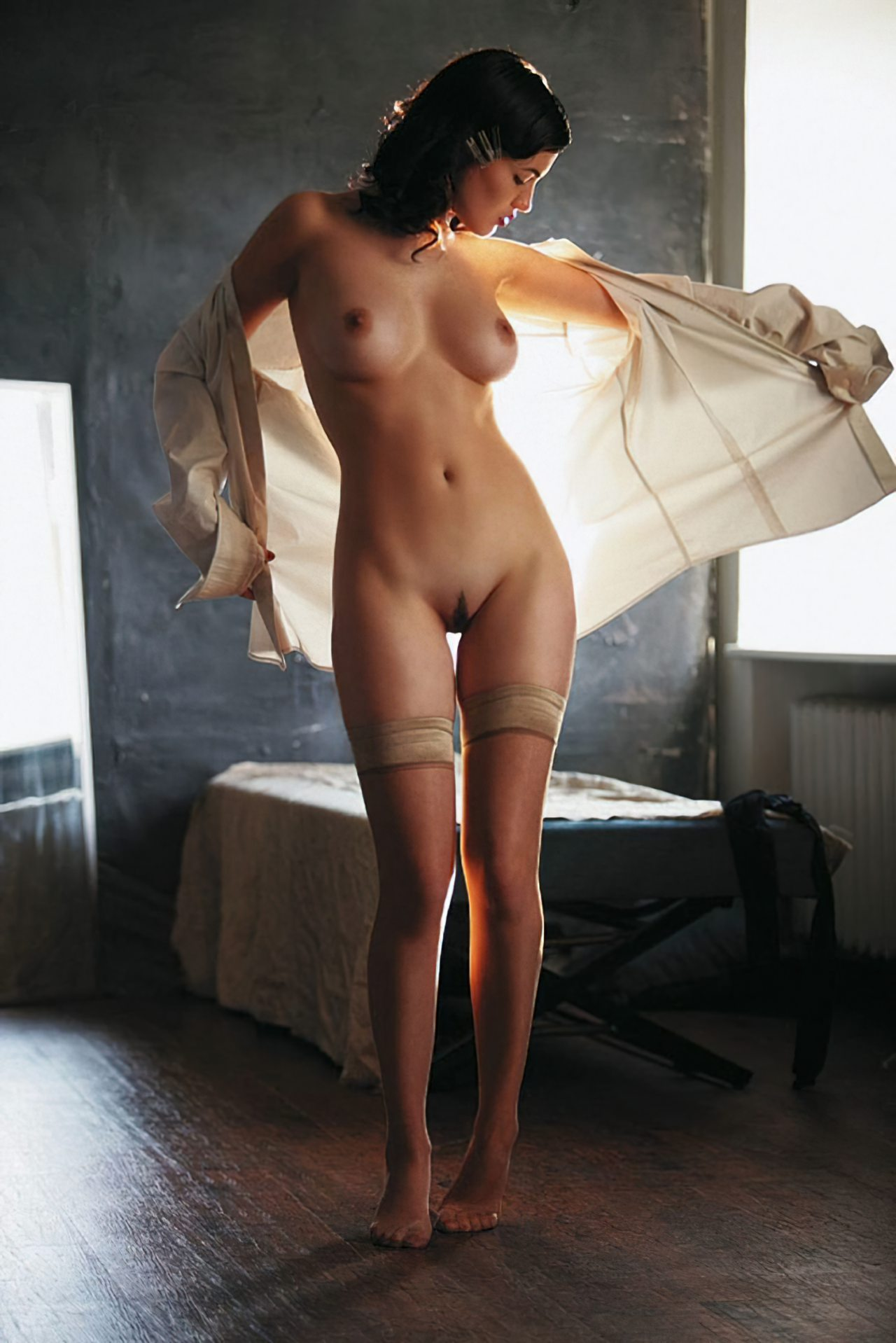Vestindo a Blusa
