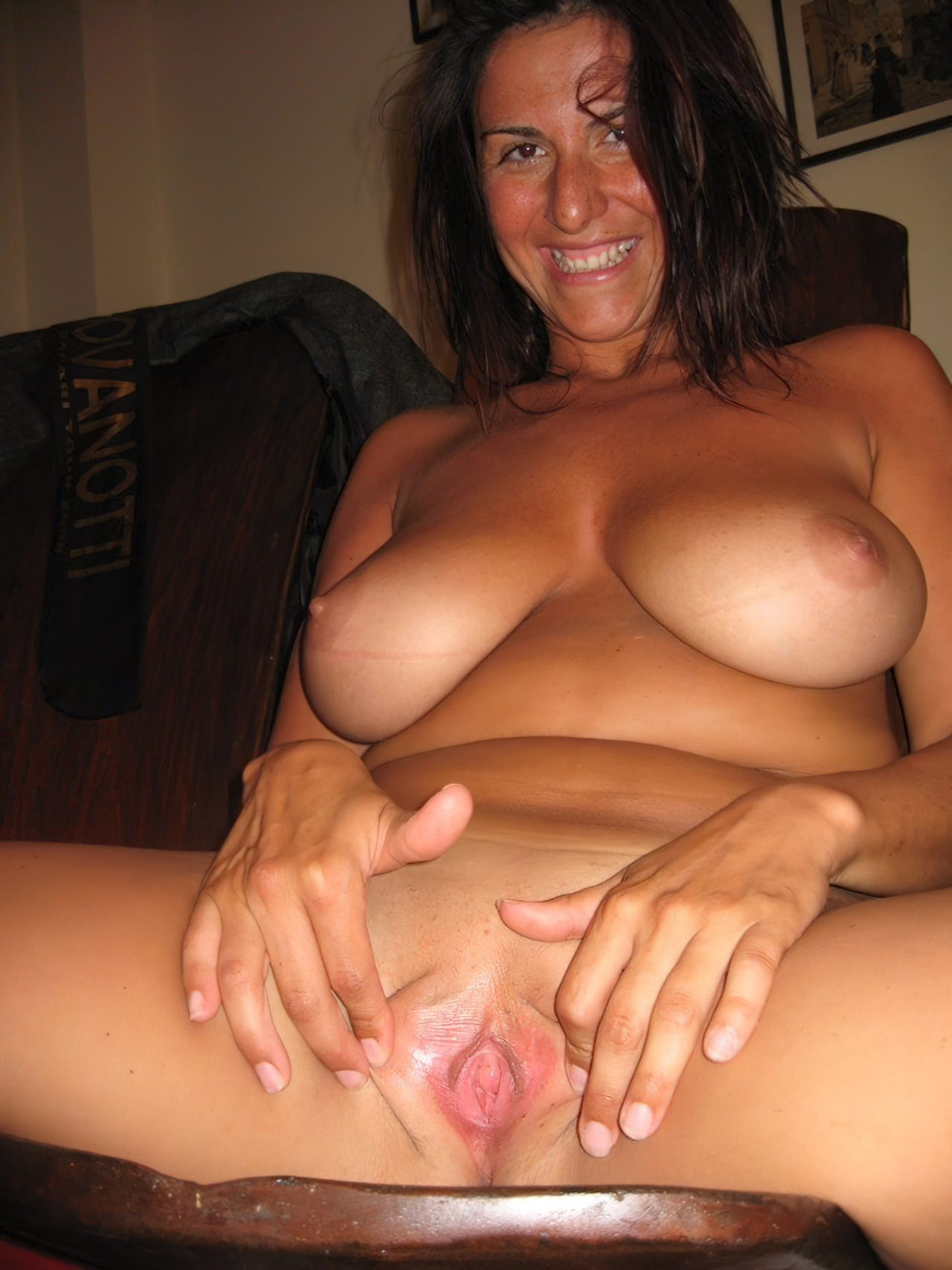 Esposa Mostrando a Buceta