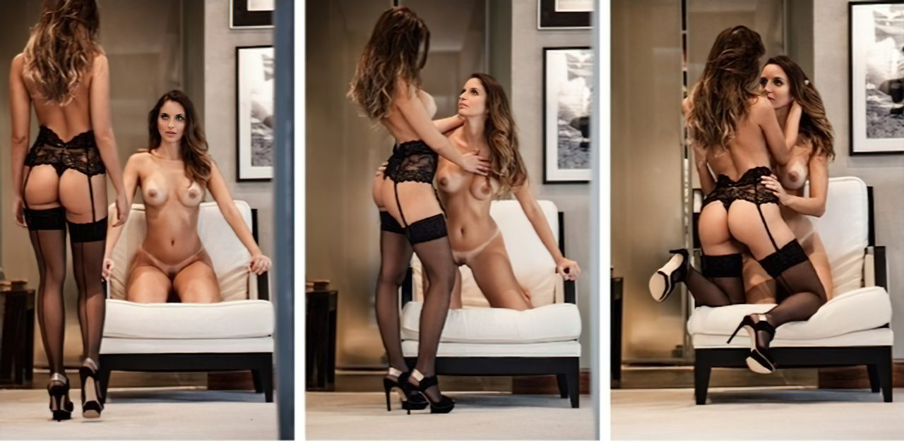 Debora e Denise Tubino Playboy (2)