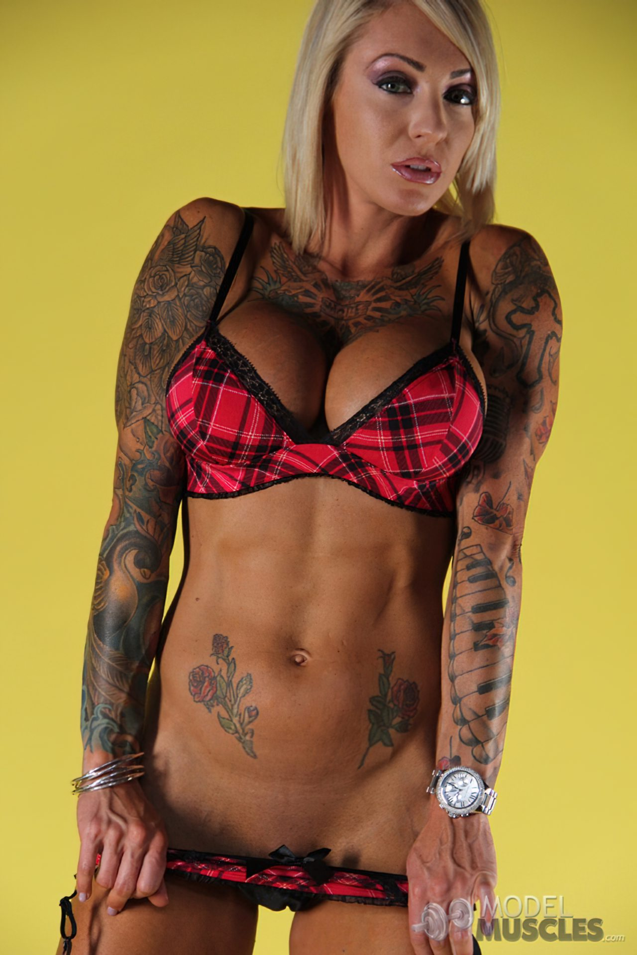 Mulher Sarada Tatuagens (3)